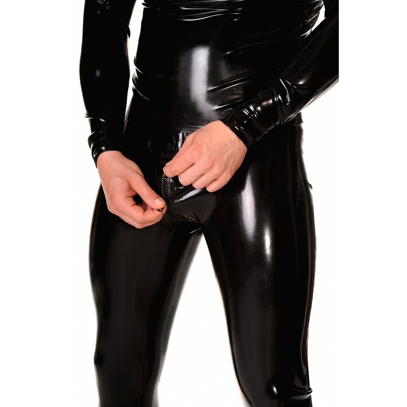 lackkläder latex leggings