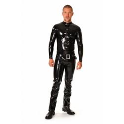 Långärmad tröja i svart